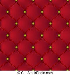 革, 赤, 家具