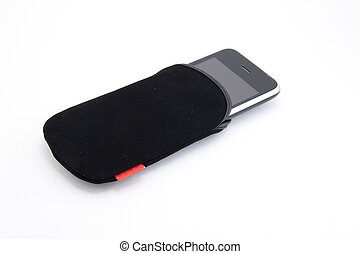 革, multitouch, smartphone, カバー