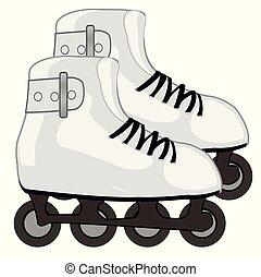 靴, ローラー スケート