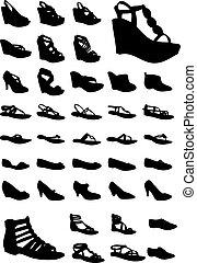 靴, 女性