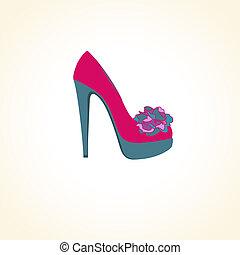 鞋子, 女性