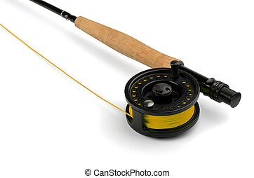 鞭笞, 釣魚 飛行