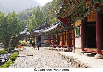 韓国, 寺院, 南