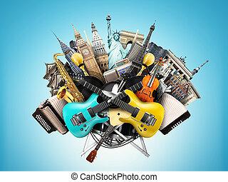 音乐, 拼贴艺术