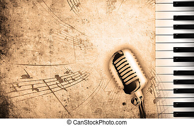 音乐, 肮脏, 背景