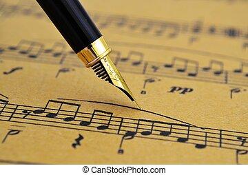 音楽シート