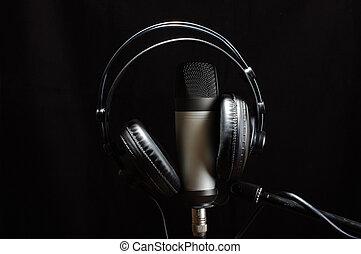音楽スタジオ, 装置
