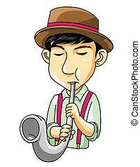 音楽家, サクソフォーン