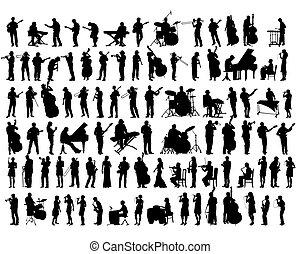 音楽家, ジャズ, 道具