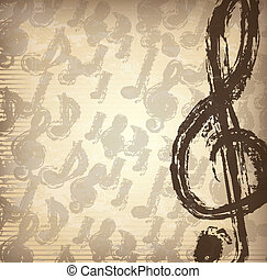 音楽的な ノート