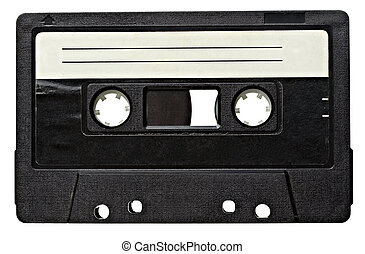 音楽, オーディオ, テープ, 型