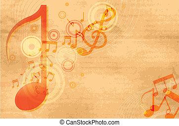 音楽, グランジ, 背景