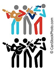 音楽, グループ