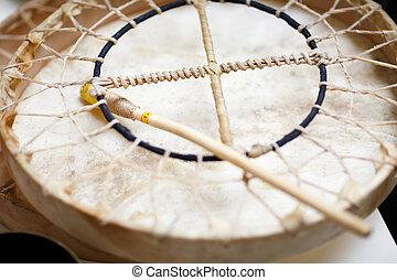 音楽, ドラム, -, 療法