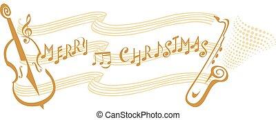 音楽, メリークリスマス, メモ