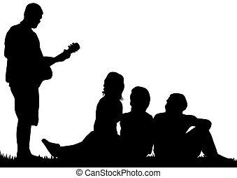 音楽, 人々, ショー