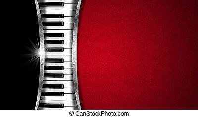 音楽, 型, 名刺