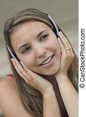 音楽, 女