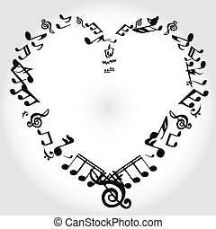 音楽, 心, メモ