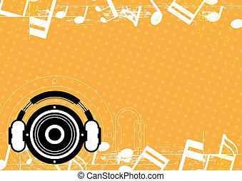 音楽, 概念, デザイン