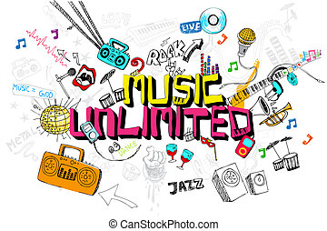 音楽, 無制限である