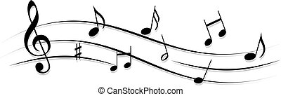 音楽, 音部記号, メモ