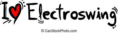 音楽, electroswing, 愛