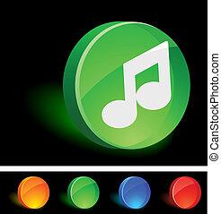 音楽, icon.