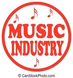 音楽, industry-stamp