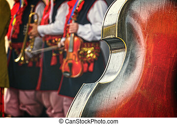 音樂家,  Contrabass, 人們