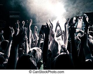 音樂會, 人群