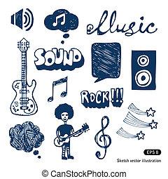 音樂, 元素, 集合