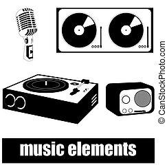 音樂, 元素