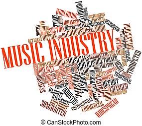 音樂, 工業