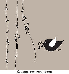 音樂, 鳥
