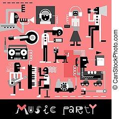 音樂, 黨