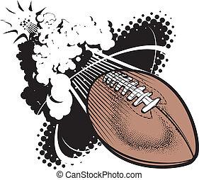 音波, フットボール, ブーム