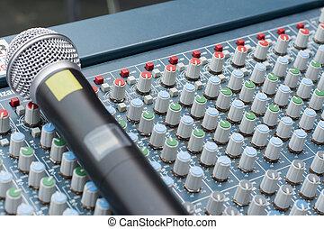 音, レコーディングスタジオ