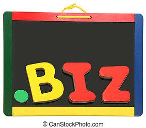 頂部, 水平, 領域, 點, 商業, 上, 黑板