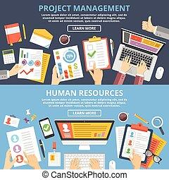 項目管理, 人力資源