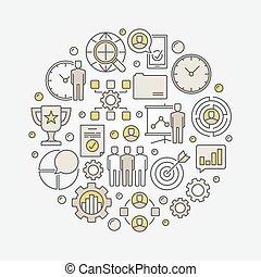 項目管理, 概念, 插圖