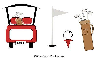 項目, ゴルフ