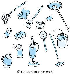 項目, 世帯, 清掃