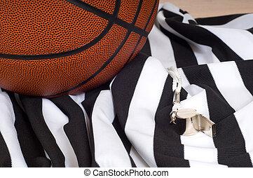 項目, 審判員, バスケットボール