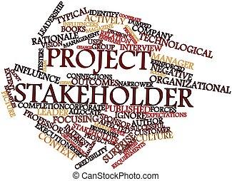 項目, stakeholder