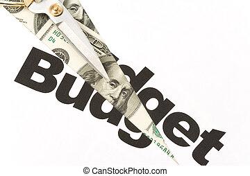 預算, 傷口