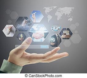 預覽, 數字, 相片, 新的技術, 電腦