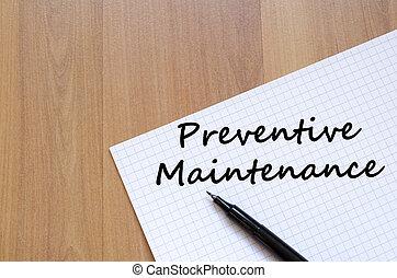 預防性, 維護, 寫, 上, 筆記本