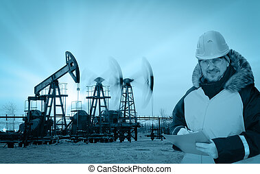 領域, 油, 工程師