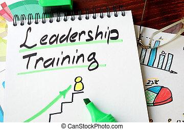 領導, 訓練